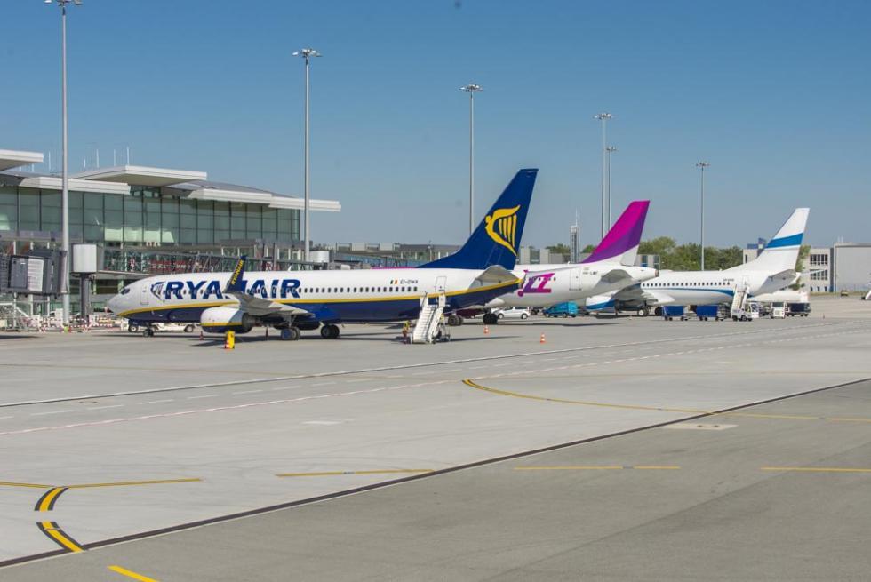 Ryanair: osiem nowych połączeń zWrocławia