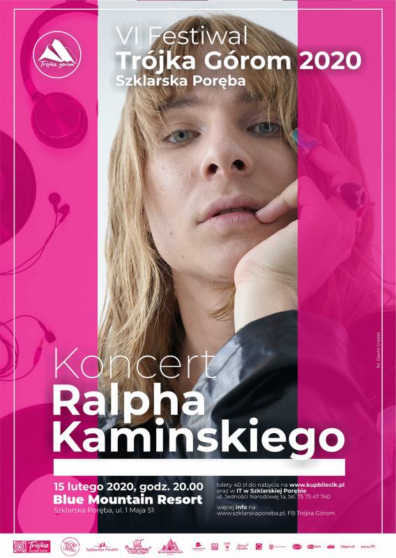 Kosmiczny koncert Ralpha Kaminskiego wSzklarskiej Porębie